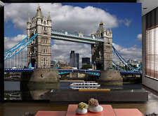 Tower Bridge London Full Wall Mural Photo Wallpaper Print Kids Home 3D Decal