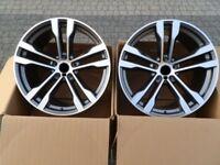 20 Zoll Felgen satz für BMW X5 E70 F15 X6 E71 F16 468 design 10-11J 4 Felgen
