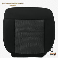 2004 - 2006 Ford F150 FX2 FX4 Driver Bottom Black Cloth Replacement Seat Cover