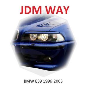 For BMW 5 Series E39 Eyebrows Eyelids Headlight Cover Eye Line 1996-2003 Set