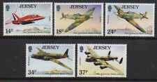 Jersey 1990 Battle of Britain set fine fresh MNH