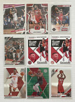 (9) PANINI MOSAIC OPTIC HOUSTON ROCKETS JAMES HARDEN WESTBROOK PRIZM PINK LOT