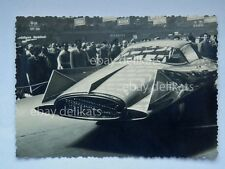 TORINO 1955 37 SALONE INTERNAZIONALE AUTOMOBILE auto car GILDA GHIA 2