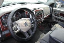 2009 2010 2011 2012 DODGE RAM 1500 2500 SLE SLT INTERIOR WOOD DASH TRIM KIT SET