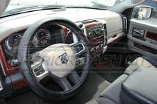 2009 2010 2011 2012 DODGE RAM 1500 2500 SLE SLT INTERIOR WOOD DASH TRIM KIT SET
