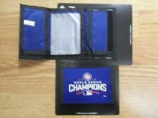 CUBS WORLD SERIES CHAMPIONS TRI FOLD NYLON WALLET