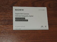 New listing Genuine Sony Dsc-H300 Instruction Manual Guide - Quick Start Guide
