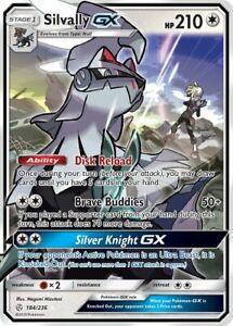 Silvally GX 184/236 Ultra Rare MINT to NM - Pokemon TCG S&M Cosmic Eclipse