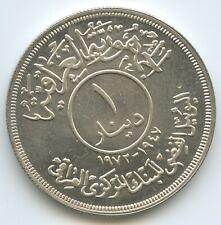 G16218 - Irak 1 Dinar 1972 KM#137 Silber UNC Anniversary of Central Bank of Iraq