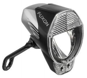 FUXON 40 LUX LED Scheinwerfer Fahrradlampe Nabendynamo Tagfahrlicht Sensor