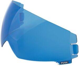 Scorpion EXO-C100 EXO-C110 Model Helmet Replacement Sun Visor Shield Blue Mirror