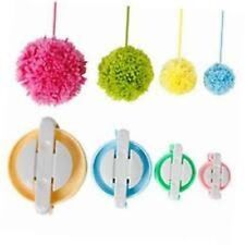 4 Sizes Pompom Pom-pom Maker for Fluff Ball DIY Wool Knitting Craft Tool