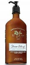 Bath & Body Works Aromatherapy Stress Relief Sage & Cedar Wood Body Lotion 6.5 F
