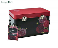 Burgon & Ball Seed Packet Storage Tin in RHS British Bloom Design | Seed Box wit