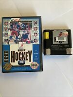 NHLPA Hockey '93 (Sega Genesis, 1992) With Box-Tested Authentic