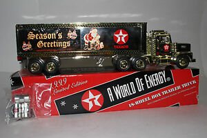 TAYLOR MADE TRUCKS 1999 LIMITED EDITION TEXACO SEASON'S GREETINGS SEMI, 1:32 #2