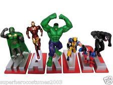 Marvel Comics Favorite Heroes and Villains Letter Set Hulk Wolverine Iron Man