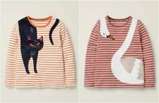 Ex Mini Boden Pure Cotton Elephant Big Cat Bird Dress Tunic Age 2-3 W14.12