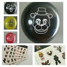 Five Nights At Freddy's Balloons & Stickers Lot of 29!  FREE Shipping from US!