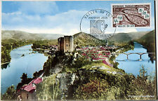 Yt 1807  FRANCE  Carte Postale Maximum LUZECH LE LOT 1974