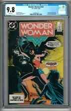 "Wonder Woman #322 (1984) CGC 9.8 White Pages  Mishkin - Heck  ""Huntress"""
