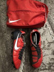 Nike Total 90 T90 Laser Elite FG Soccer Cleats Red Men's Size 11