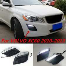 2x NEW LED DRL Driving White Daytime Running Day Light For VOLVO XC60 2010-2013