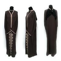 Taille 58& 60 Femme Bout Ouvert Abaya.dress. Saoudien Abaya Japonais Neda /