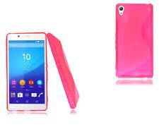 Fundas Para Sony Xperia Tipo color principal rosa para teléfonos móviles y PDAs