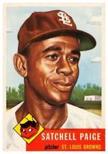 """Satchel Paige  - 24"""" POSTER - St. Louis Browns BASEBALL - Negro League"""