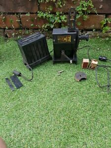 Pathescope Ace 9.5mm Projector with parts, spare bulbs. FREE UK postage