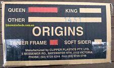 Queen Waterbed Mattress Full Float, Timber frame