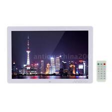 "17"" HD 1080P LED Digital Photo Frame MP3 MP4 Movie Player Remote Control US C3C5"