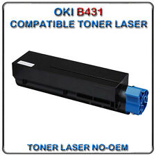 NO-OEM TONER OKI B431 GÉNÉRIQUE 44574802 COMPATIBLE 7000 PAGES B411 MB461 ...