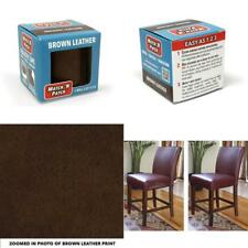 Realistic Brown Leather Patch Tape Kit Furniture Couch Bags Chairs Repair