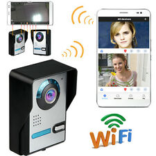 Wireless WiFi Video Remote Door Phone Doorbell Intercom Monitor Night Vision NEW
