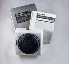 Original Canon Macro Lens Mount FD-EOS Converter