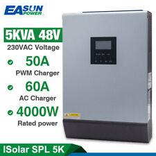 5KVA 48V 220v Built-in 50A PWM Solar Inverter Charge Controller Battery Charger