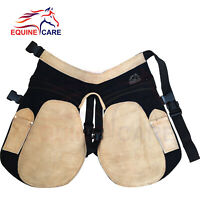 "29"" Farrier 100/% Suede Leather Chaps Apron with Breathable Air Mesh Inning 75 CM"