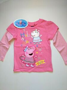 Peppa Pig / Long Sleeve Shirt / Girls / Size 1 Only.