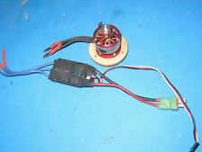 Miscellaneous Helicopter part came with blade helicopter lot w emax motor + 3k4