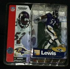 Mcfarlane NFL Series 5 Ray Lewis Purple Variant Action Figure Rare VHTF Ravens