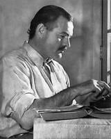 Author Ernest Hemingway American Novelist and Journalist New 5x7 Photo