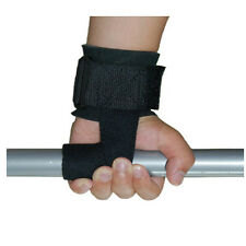 Padded Weight Lifting Training Gym Straps Hand Bar Wrist Support Gloves New
