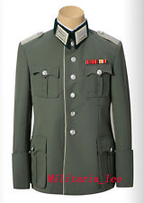 WW2  Repro German Officer Walking Out Gabardine Tunic(6-Button) All Sizes