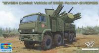 Trumpeter 1/35 01060 Russian Combat Vehicle Of 96K6 Pantsir-S1 ADMGS Model