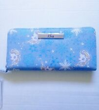 Disney Store Japan Wallet Featuring Elsa from Frozen Nwt