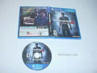 UNCHARTED 4: A THIEF'S END game only in original case - Sony Playstation 4 PS4