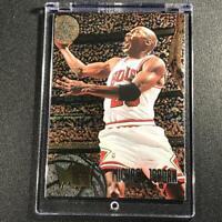 MICHAEL JORDAN 1995 FLEER METAL #13 FOIL CARD CHICAGO BULLS NBA MJ
