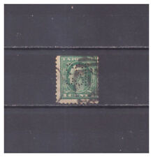 US Perfins SSP pattern #S269   1 stamp
